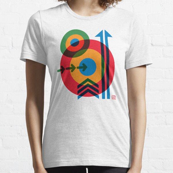 Mod Target Arrows 60s Pop Art Essential T-Shirt