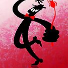 Man with a Red Rose by Zoo-co