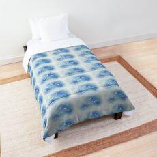 blue powdered nudibranch Comforter