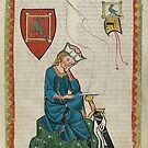 Walther von der Vogelweide... medieval German knight and poet by edsimoneit