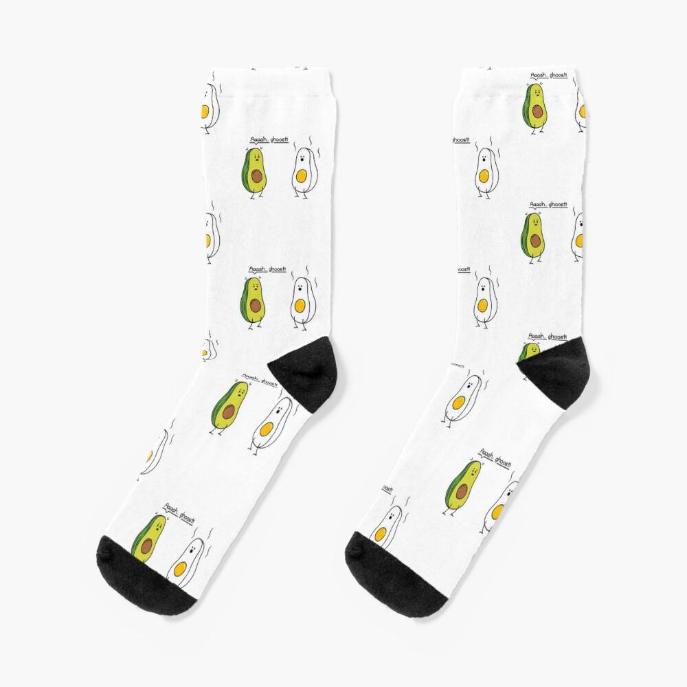 Avocado socks.Avo socks.Novelty Socks.Photo Print Socks.