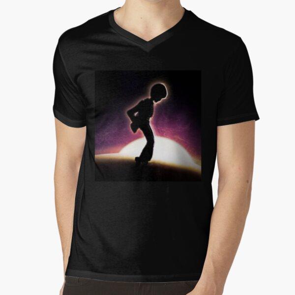 Moonwalking On The Moon V-Neck T-Shirt