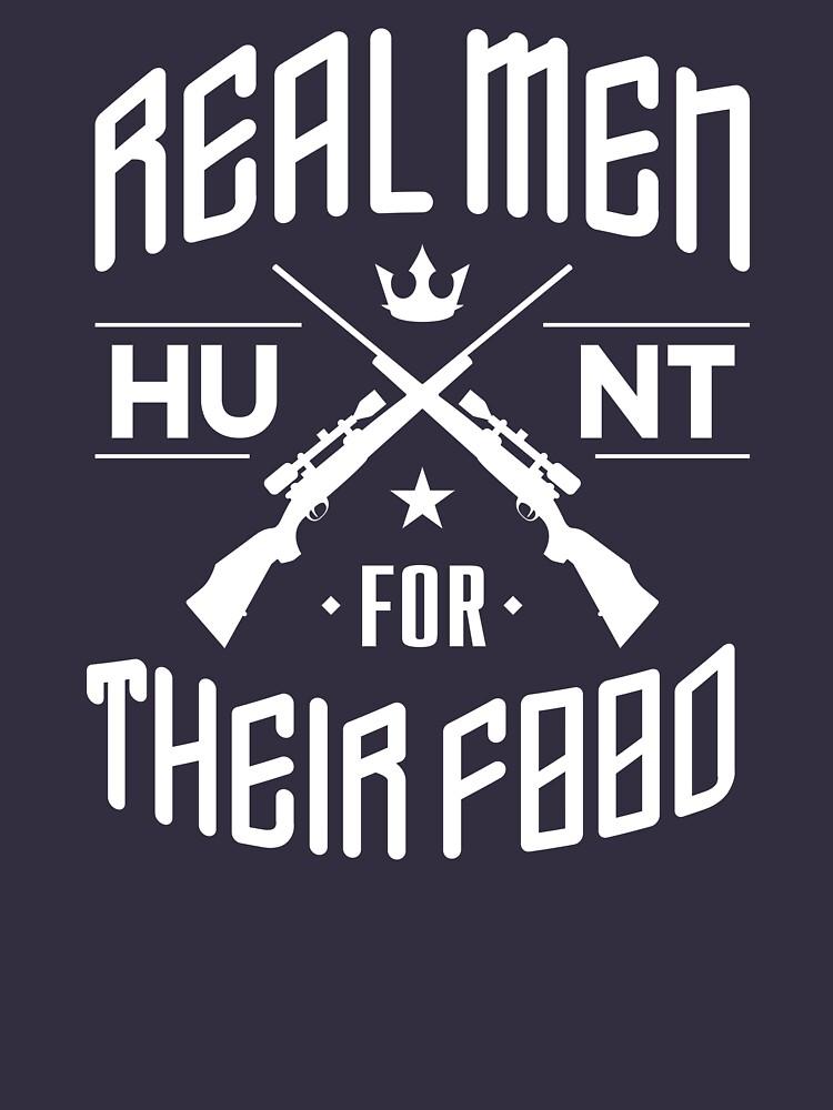Real men - Hunt for their food by adiruhendi