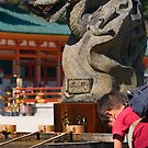Shrine Dragon. Kyoto, Japan. by johnrf