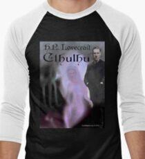 H.P. Lovecraft Cthulhu Baseball ¾ Sleeve T-Shirt