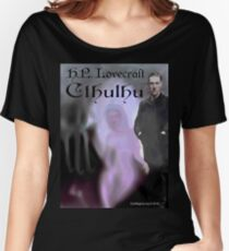H.P. Lovecraft Cthulhu Relaxed Fit T-Shirt