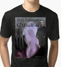 H.P. Lovecraft Cthulhu Tri-blend T-Shirt