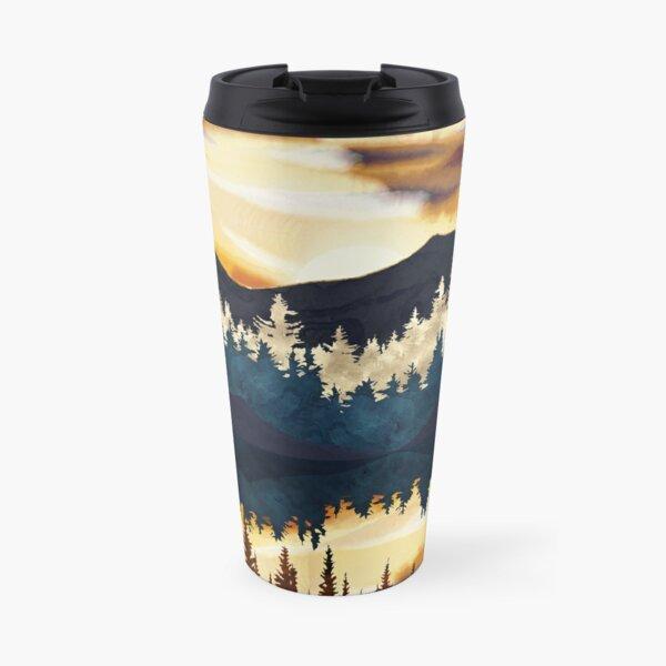 Fall Sunset Travel Mug