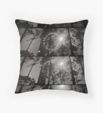 And also the trees Throw Pillow