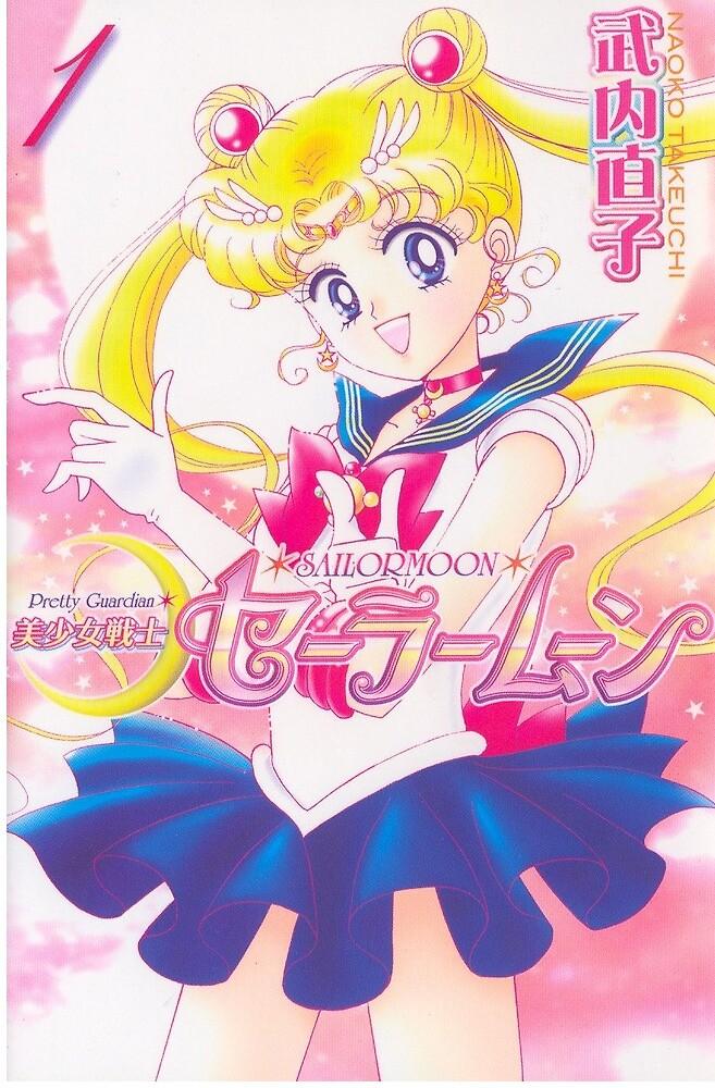 Sailor moon manga by Gumnakyo