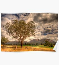 Sunburnt Country - The Capertee Valley, NSW Australia - The HDR Experience Poster