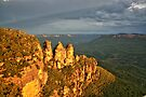 The Three Sisters - Blue Mountains National Park, New South Wales by John Bullen