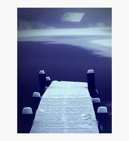 Untouched Jetty Photographic Print