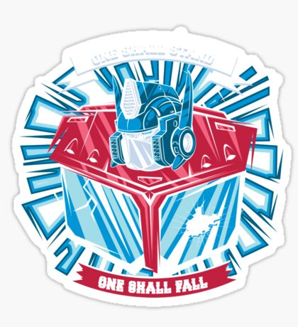 One Shall Stand Sticker