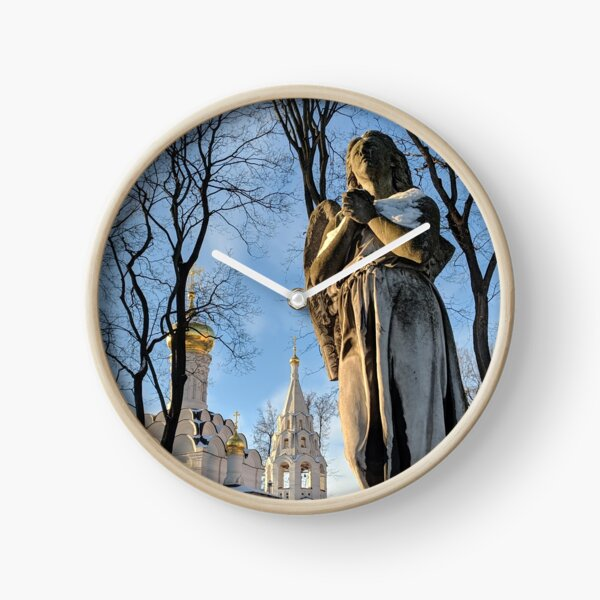 Weeping Angel in Moscow Clock