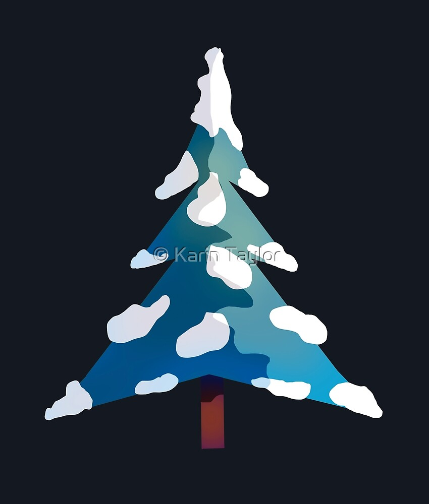 Christmas Tree by Karin Taylor