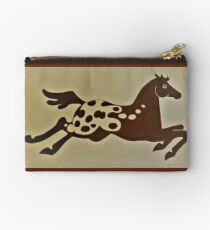 Indian Pony Zipper Pouch