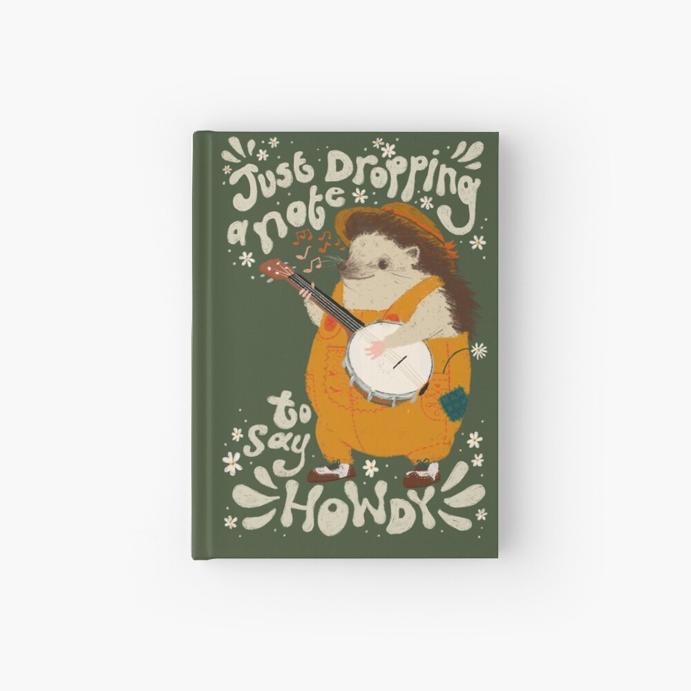 Howdy Hardcover Journal
