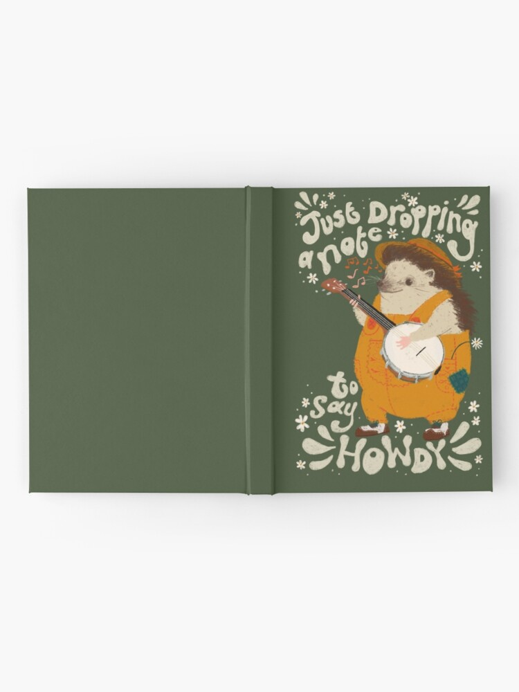 Alternate view of Howdy Hardcover Journal
