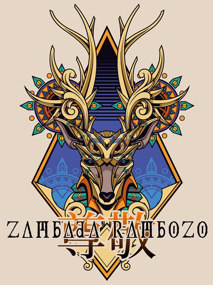 Zambada Rambozo - Musical Conversations Ep. 02 Cover Artwork dark von zambadarambozo