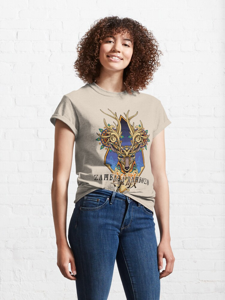 Alternative Ansicht von Zambada Rambozo - Musical Conversations Ep. 02 Cover Artwork dark Classic T-Shirt