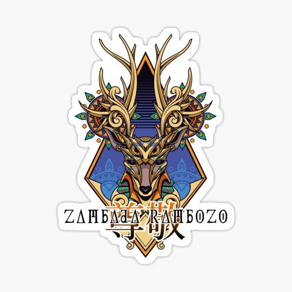 Zambada Rambozo - Musical Conversations Ep. 02 Cover Artwork dark Sticker