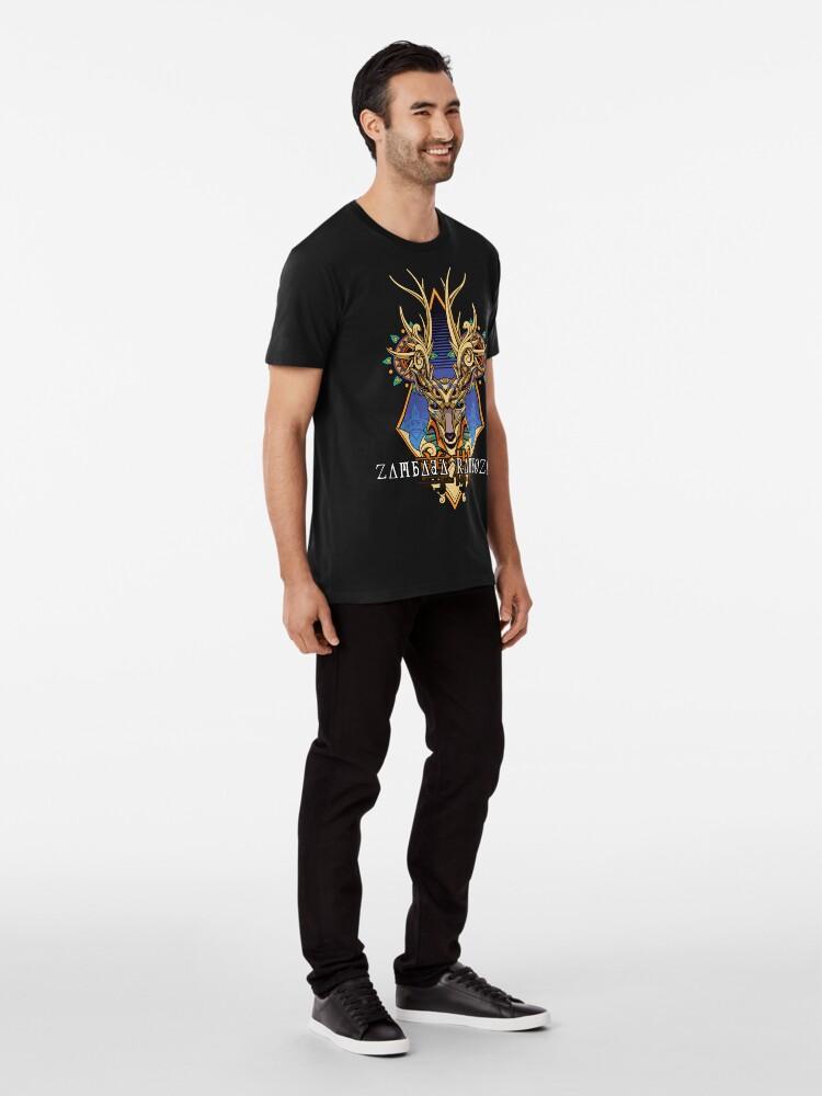 Alternative Ansicht von Zambada Rambozo - Musical Conversations Ep. 02 Cover Artwork light Premium T-Shirt