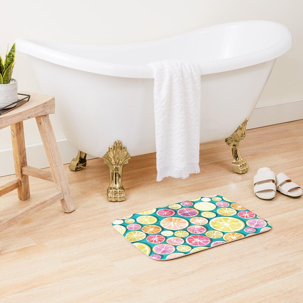 Citrus bath Bath Mat