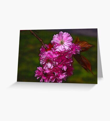 Cherry Blossom  (Spring) Greeting Card