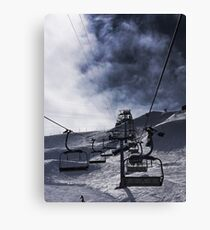 The Chairlift Canvas Print