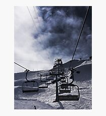 The Chairlift Photographic Print