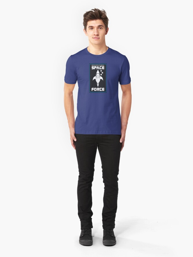 Alternate view of United States Space Force Slim Fit T-Shirt