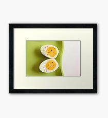 Boiled Egg Framed Print