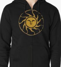 Praise the Sun Zipped Hoodie