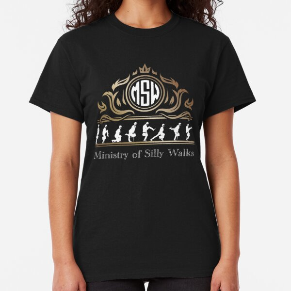 Ministry of Silly Walks Royal Majesty Emblem Classic T-Shirt