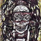 Goggle Skull by DreddArt