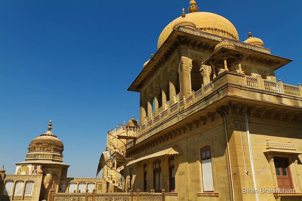 King's abode, Vijay Vilas Palace by Biren Brahmbhatt