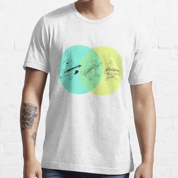 Keytar Platypus Venn Diagram Essential T-Shirt