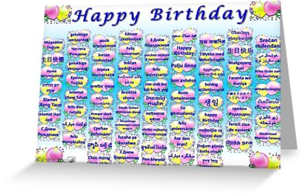 Happy birthday greeting cards by jmccombie redbubble happy birthday by jmccombie m4hsunfo
