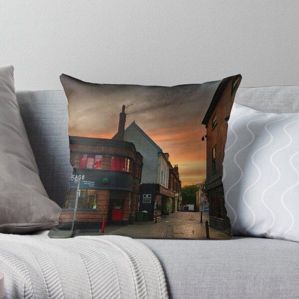 Pottergate at Dawn Throw Pillow
