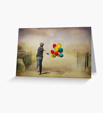 Colour Me Happy Greeting Card