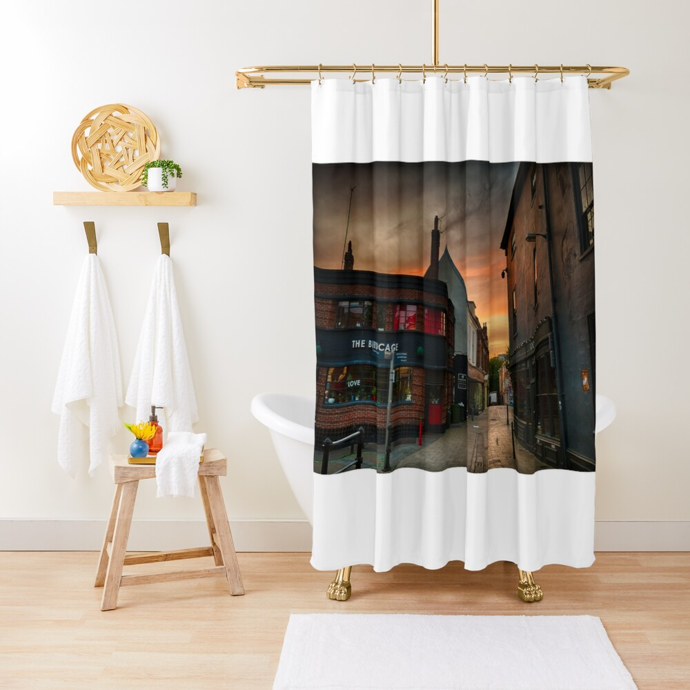 Pottergate at Dawn Shower Curtain