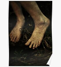 Bare Foot Poster