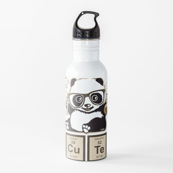 Chemistry panda discovered cute Water Bottle