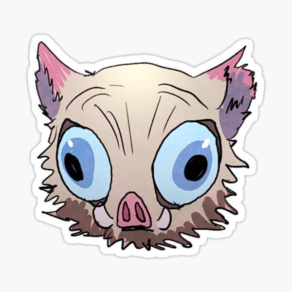 Inosuke Fisheye Lens Emoji Sticker