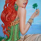 Julia's Four Leaf Clover by nancy salamouny