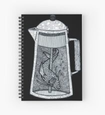 There was a fish in the percolator Spiral Notebook