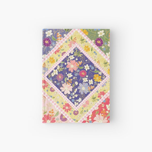 Hand-drawn floral fantasy by Tea with Xanthe Hardcover Journal