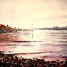 Afternoon light on the Hamble by LorusMaver