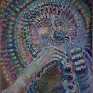 Peacock by Faith Coddington Krucina